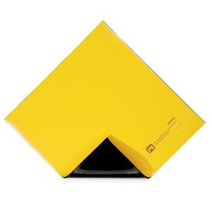 pollution control mat / drain cover / composite / high-visibility