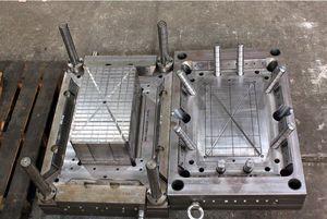 multi-cavity plastic injection mold / IML / mono-cavity / packaging