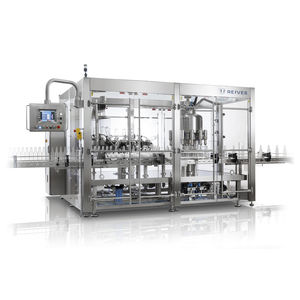 liquid rinser-filler-capper / for pharmaceutical products / for cosmetic products / for the food and beverage industry