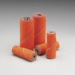 conical abrasive roll / cylindrical