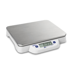 benchtop scale / with LCD display / compact / with external calibration weight