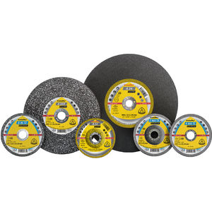 metal cutting disc / for stone / for non-ferrous metals / zirconium oxide