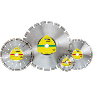 metal cutting disc / for stone / for concrete / for non-ferrous metals
