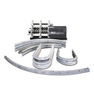 guard-rail bending machine