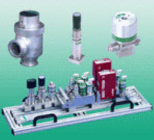 ultra-high-purity gas gas control system