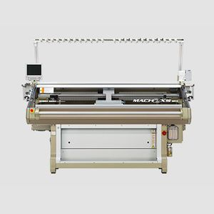 flat knitting machine / compact / computerized / high-speed