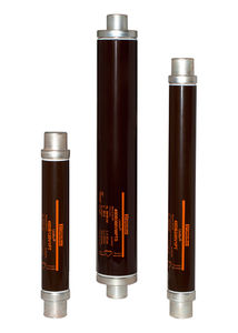 high-voltage fuse / cylindrical / fast-acting