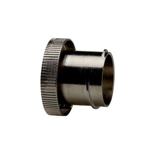 threaded end cap / round / for sleeving