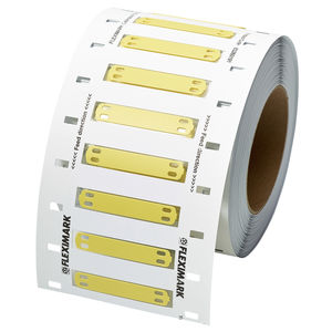 thermal transfer label / PUR / cable / cable marking