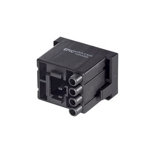 electrical power supply connector / rectangular / screw / high-current