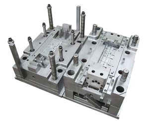 multi-cavity plastic injection mold / mono-cavity / hot-runner / bi-material