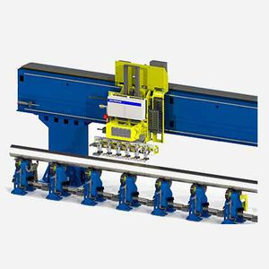 ultrasonic inspection system / eddy current / automated / surface