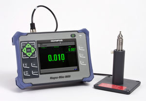 non-ferrous material thickness gauge