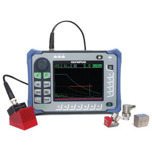 ultrasonic flaw detector / for NDT / portable / digital