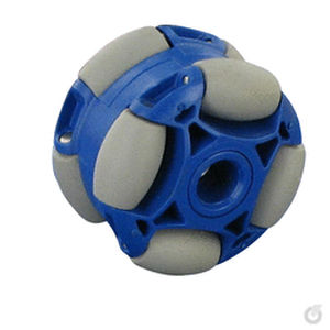 conveying wheel type roller / polyurethane / POM / omnidirectional