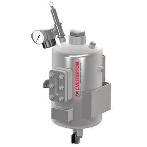 metal tank / pressure / vertical / pressure