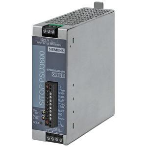 AC/DC power supply / stabilized / single-phase / DIN rail