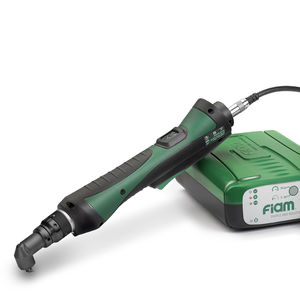 corded electric screwdriver / right-angle / with shut-off clutch / brushless