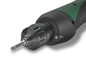 corded electric screwdriver / straight / with shut-off clutch / brushless