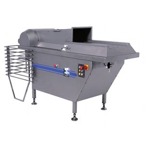 frozen meat shredder / for frozen products / single-shaft / stainless steel