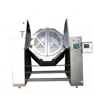 deep-fat industrial fryer / vegetable / robust / height-adjustable
