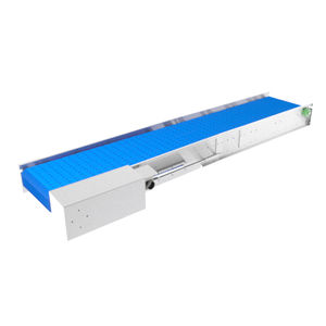 belt conveyor / for the food industry / dough / cooling