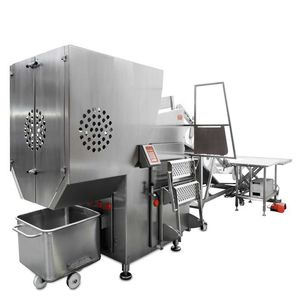 stainless steel frozen meat guillotine