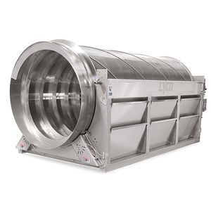 drum screen / rotary / for wastewater treatment