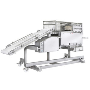 Meat membrane skinning machine - SR 500 A - Maja-Maschinenfabrik Hermann Schill GmbH & Co. KG