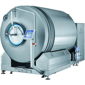 meat tumbler with cooling system