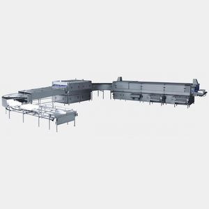 water cleaning tunnel / automatic / process / for industrial applications