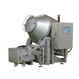 vacuum meat tumbler / with cooling system