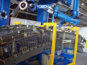 robotic assembly machine