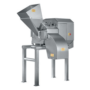meat dicer / for cheese / stainless steel / for continuous operation