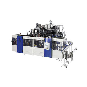 multi-cavity blow molding machine / extrusion / twin-station / fully-automatic