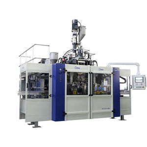 multilayer blow molding machine / extrusion / for bottles / twin-station