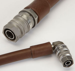 threaded fitting / straight / 90° angle / hydraulic