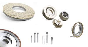 surfacing wheel / cutting / diamond / electroplated CBN