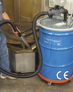 liquid vacuum cleaner / compressed air / industrial / mobile