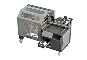 wire winding machine / for hoses / semi-automatic