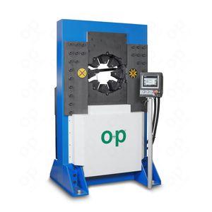 hose crimping machine / automatic / hydraulic / PLC-controlled