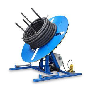 hose rewinder-winder / motorized