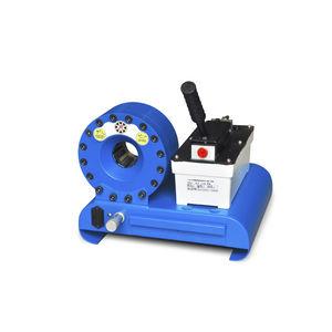 hose crimping machine / hydraulic hose / semi-automatic / pneumatic