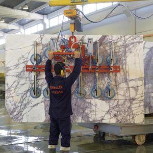stone slab vacuum lifting device