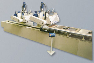 stainless steel polishing machine / for aluminum / for wood / for flat parts