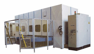 aluminum polishing machine / for wood / for flat parts / CNC