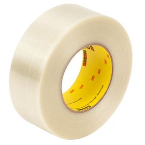 rubber adhesive tape / polypropylene / for pipe wrapping / reinforced