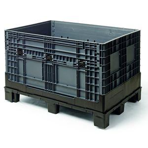 plastic pallet box / heavy haul / folding / reinforced