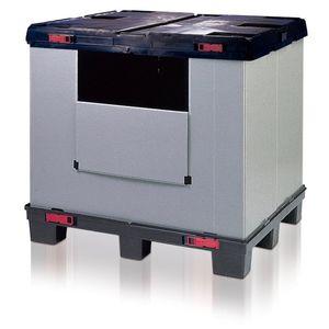 plastic pallet box / heavy haul / folding