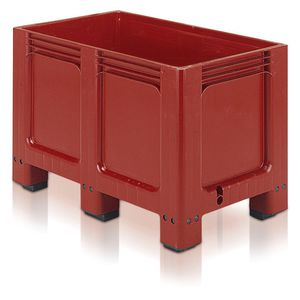 plastic crate / industrial / stackable / for heavy loads